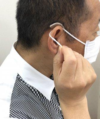 補聴器 マスク生活での補聴器選び