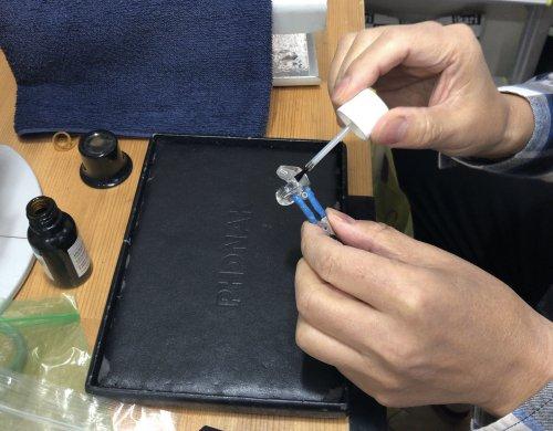 補聴器 イヤモールドの修正