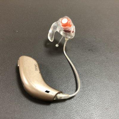 補聴器 イヤモールドの形状